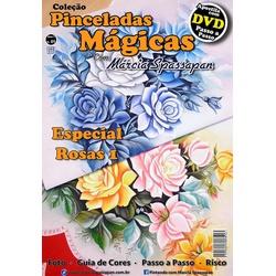 DVD DUPLO Coleção Pinceladas Mágicas Edição 1 com ... - Loja da Márcia Spassapan | Tudo para Artesanato
