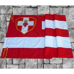 Bandeira do Apostolado da Oração - 096 - LOJA DA PARÓQUIA - OBJETOS E PARAMENTOS LITÚRGICOS