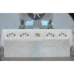 Toalha de Altar - CG 070 - LOJA DA PARÓQUIA - OBJETOS E PARAMENTOS LITÚRGICOS