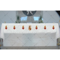 Toalha de Altar - SCJ - LOJA DA PARÓQUIA - OBJETOS E PARAMENTOS LITÚRGICOS