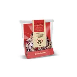 Lascas Européias Chocolate Branco - 3145 - LOJADESEJOESABOR