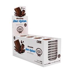 Caixa Tablete Chocolate Zero Açúcar - 1032 - LOJADESEJOESABOR