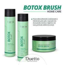Kit Home Care Botox Brush Duetto Promoçao - Duetto Super - Cosméticos Profissionais