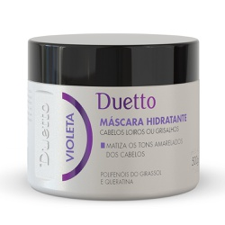 Mascara Hidratante Violeta Duetto 500g - Duetto Super - Cosméticos Profissionais