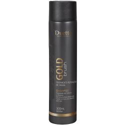 Shampoo Gold Brush Duetto 300 ml - Duetto Super - Cosméticos Profissionais
