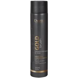 Máscara Condicionante Gold Brush Duetto 300ml - Duetto Super - Cosméticos Profissionais