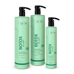 Kit Botox Brush Duetto Profissional - Duetto Super - Cosméticos Profissionais