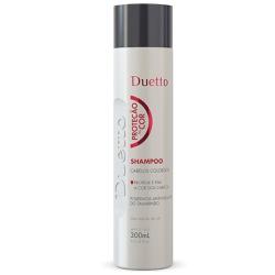 Shampoo Proteção Da Cor Duetto 300 ml - Duetto Super - Cosméticos Profissionais