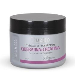 Máscara Hidratante Queratina + Creatina Duetto 500... - Duetto Super - Cosméticos Profissionais