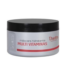 Máscara Hidratante Multi Vitaminas Duetto 280g - Duetto Super - Cosméticos Profissionais