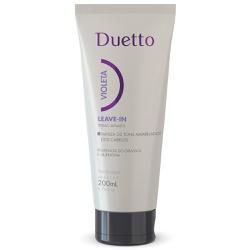 Leave In Violeta Duetto 200ml - Duetto Super - Cosméticos Profissionais