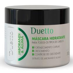 Máscara Hidratante Jaborandi Duetto 500g - Duetto Super - Cosméticos Profissionais