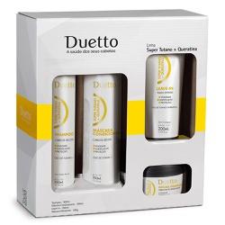 Kit Super Tutano + Queratina Duetto 280g - Duetto Super - Cosméticos Profissionais