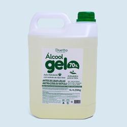 Álcool em Gel Duetto 5000 ml - Duetto Super - Cosméticos Profissionais