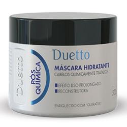 Máscara Hidratante Pós Química Duetto 500 g - Duetto Super - Cosméticos Profissionais