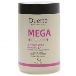 Mega Máscara Duetto 1kg - Duetto Super - Cosméticos Profissionais