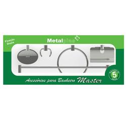 Kit Inox Metalplas Master 5 Peças - Loja Gomes