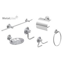 Kit Inox Standard Metalplas 5 Peças - Loja Gomes