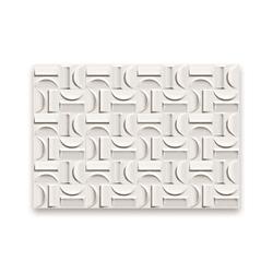 Azulejo Ceusa 43,7X63,1 Arcos Branco Extra M² - Deposito Cidade Nobre