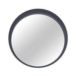 Espelho Astra C/Moldura Concreto Diam. 61cm - Loja Gomes