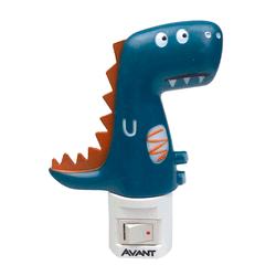 Luminária Luz Noturna Led de Tomada Dino 3000K - A... - Loja Gomes