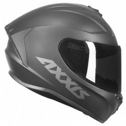 CAPACETE AXXIS DRAKEN SOLID MATT BLACK - 0397 - HELMET MOTO STORE