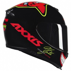 CAPACETE AXXIS EAGLE MG16 CELEBRITY EDITION MARIAN... - HELMET MOTO STORE