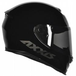 CAPACETE AXXIS EAGLE MONOCOLOR BLACK - 0422 - HELMET MOTO STORE