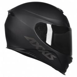 CAPACETE AXXIS EAGLE MONOCOLOR MATT BLACK - 0423 - HELMET MOTO STORE