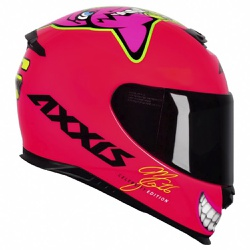 CAPACETE AXXIS MG16 CELEBRITY EDITION MARIANNY - 0... - HELMET MOTO STORE