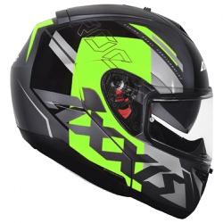 CAPACETE AXXIS ROC SV BLOW GREEN - 0433 - HELMET MOTO STORE