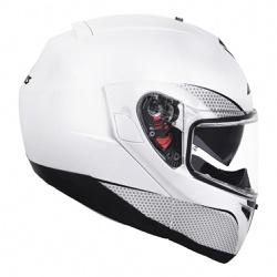 CAPACETE AXXIS ROC SV SOLID WHITE - 0437 - HELMET MOTO STORE