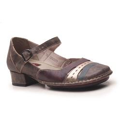 Sapato New Mariah Em Couro Café J.Gean - DX0010-DX... - J.Gean
