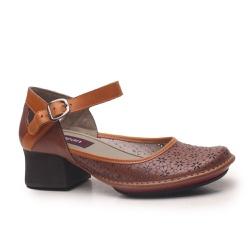 Sapato Em Couro New Kelly Suede J.Gean - CK0024-CK... - J.Gean