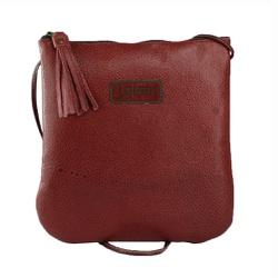 Bolsa de Mão Em Couro Rouge J.Gean - NC0005-NC00... - J.Gean