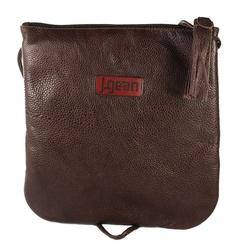 Bolsa de Mão Em Couro Marrone J.Gean - NC0005/18 - J.Gean