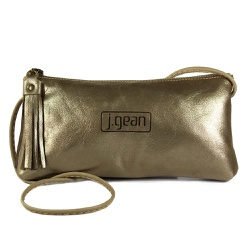 Bolsa de Mão Em Couro Ourolight J.Gean - NC0002-NC... - J.Gean