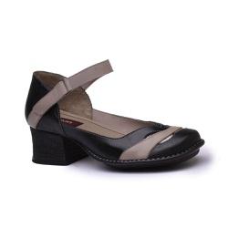Sapato New Kelly Preto Em Couro J.Gean - CK0125-C... - J.Gean