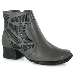 Bota New Kelly Em Couro Cannon J.Gean Outlet - DB0... - J.Gean