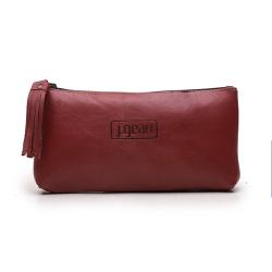 Bolsa de Mão Em Couro Rouge J.Gean - NC0001-NC0001... - J.Gean