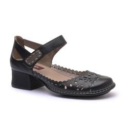 Sapato New Kelly Em Couro Preto J.Gean - CK0117-CK... - J.Gean