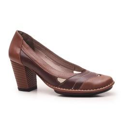 Sapato Ibizza Em Couro Amêndoa J.Gean Outlet - EC0... - J.Gean