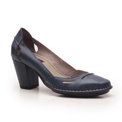 Sapato Ibizza Em Couro Navy J.Gean Outlet - EC0005... - J.Gean