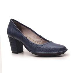 Sapato Ibizza Em Couro Marinho J.Gean Outlet - EC0... - J.Gean