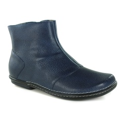 Bota Em Couro Lock Confort Blue J.Gean OUTLET - BC... - J.Gean