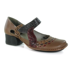 Sapato New Kelly Em Couro Amêndoa J.Gean - CK0093-... - J.Gean