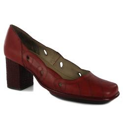 Sapato Galeany Alto Em Couro Rouge J.Gean - AR020... - J.Gean