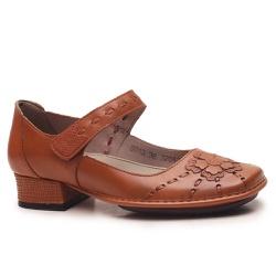 Sapato New Mariah Em Couro Tâmara J.Gean - DX0013-... - J.Gean