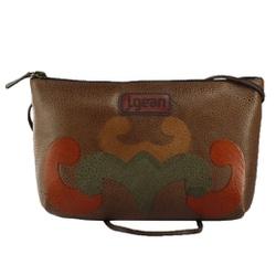 Bolsa de Mão Em Couro Marrom J.Gean - NC0014-NC00... - J.Gean