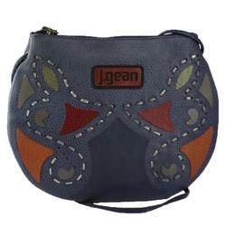 Bolsa de Mão Em Couro Navy J.Gean - NC0016-NC0016... - J.Gean